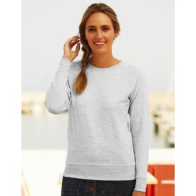 Μπλουζάκι Φούτερ Fruit of the Loom Lightweight Raglan Sweat Lady-Fit